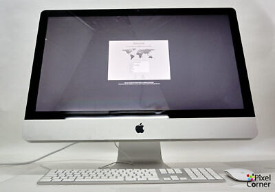 "Apple 27"" iMac i7 3.4GHz Quad core Mid 2011- 512 SSD / 1TB HD + 20GB RAM  Boxed"