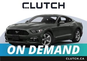 2017 Ford Mustang – Available On Demand