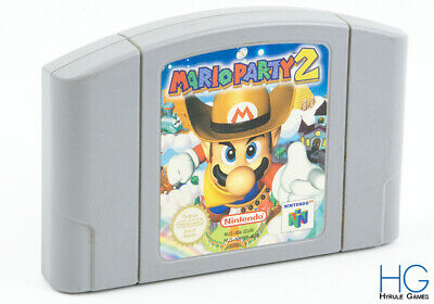 Mario Party 2 - N64 Nintendo 64 Retro Game Cartridge PAL