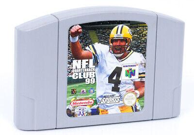 NFL Quarterback Club 99 - N64 Nintendo 64 Retro Game Cartridge PAL