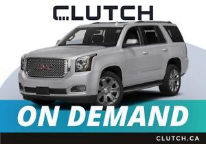 2018 Gmc Yukon – Available On Demand