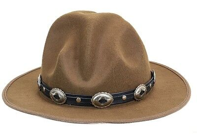 Oval Concho Happy Hat Style Wool Costume Party Halloween Pharrell Williams (Pharrell Costume Hat)