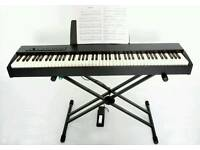Roland F-20 Full Size Portable Digital Piano with Pedal and Stand