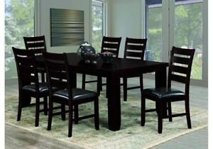 Dining Table and Chairs With Butterfly Leaf (KW1106)