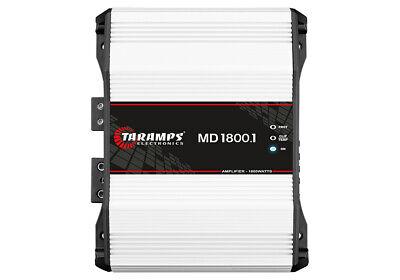 TARAMPS MD1800.1 AMPLIFIER 1800 WATTS RMS 1-OHM CLASS D FREE SHIPPING comprar usado  Enviando para Brazil