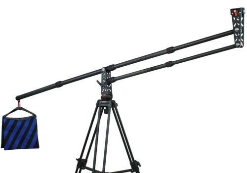 Ephoto Portable Dslr Camera 4FT Mini JIB Crane Carbon Fiber JIB Portable Camera Crane
