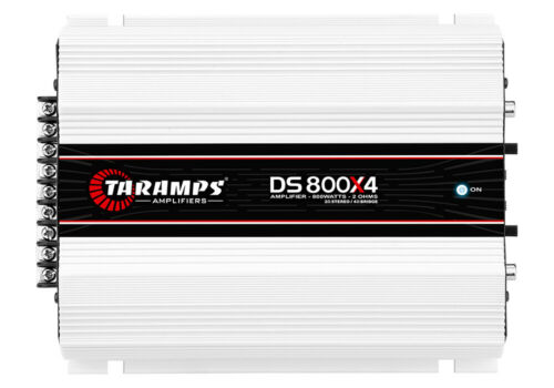 TARAMPS DS 800X4 2OHM CLASS D AMPLIFIER SHIPS SAME DAY FROM OHIO