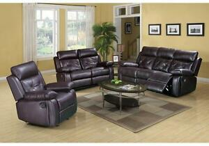 BRAND NEW RECLINER SOFA SETS ON  SALE AT KITCHEN AND COUCH  (AD 49)