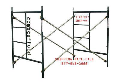Cbm Scaffold One Of Snap-on 5 X 5 X 7 Masonry Scaffolding Box Frame Set