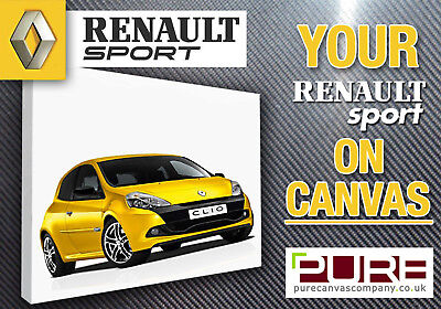 YOUR RENAULT Sport Clio 172 182 200 Megane R26 CANVAS
