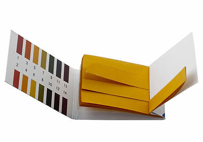 280 Ph 1-14 Universal Full Range Litmus Test Paper Strip Tester Indicator Urine