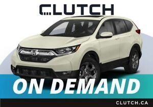 2018 Honda CR-V – Available On Demand