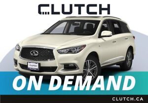 2018 Infiniti QX60 – Available On Demand