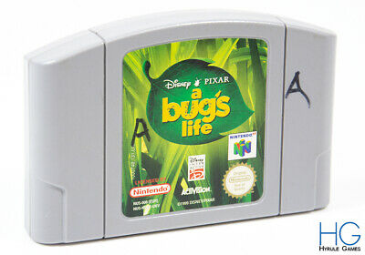 Disney / Pixar: A Bug's Life - N64 Nintendo 64 Retro Game Cartridge PAL