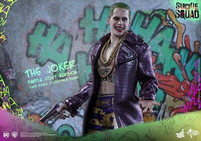 Hot Toys Movie Masterpiece JOKER Purple Coat Suicide Squad DC 1/6 action figure