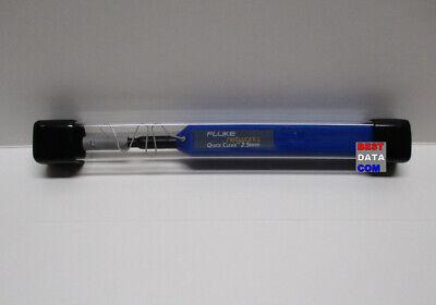 Fluke Networks 2.5 mm SC SMF Fiber Optic Quick Clean Cleaner ST one click pen