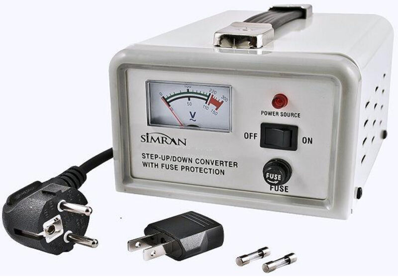 Simran 1500 Watt Delux Voltage Converter Stabilizer High Quality 110V 220V 1500W