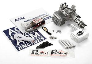 AGM 30 V2 Verbrennungsmotor Gasengine 30 CC 3.7 HP / 8500 rpm VS DLE30