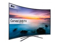 "SAMSUNG UE55KU6500 Smart 4k Ultra HD HDR 55"" Curved LED TV"