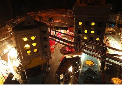 Dirty Harry Pinball Flickering Buildings Light Mod Kit