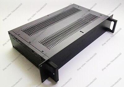 """19"""" 2U-D1 Rack mount cabinet high quality Aluminum multipurpose DIY enclosure"""