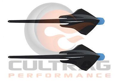 2014-2019 C7 Corvette Genuine GM Carbon Flash Black Rear Bumper Emblem 23183712