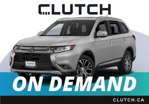 2018 Mitsubishi Outlander – Available On Demand