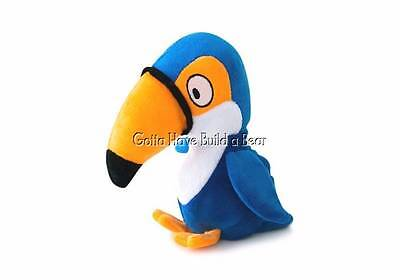 Hatchables Interactive Hide   Seek Puzzle Plush Toy Squeaky Blue Bird Nwt