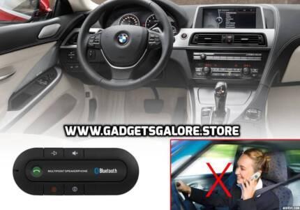 Hands Free Bluetooth Car Kit Speakerphone - Bluetooth 4.0, 600mAh
