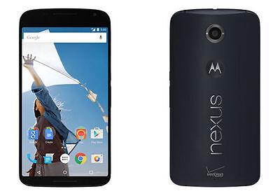 Unlocked Motorola Google Nexus 6 XT1103 4G LTE SmartPhone AT&T T-mobile Verizon