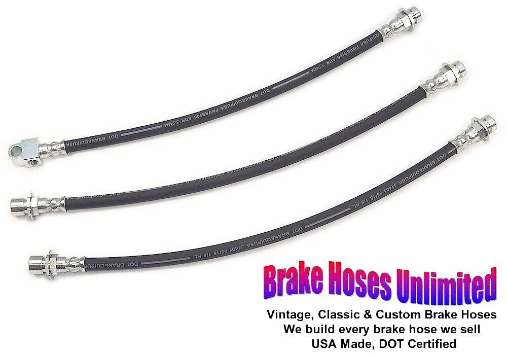 BRAKE HOSE SET International Harvester Scout II, 1971 1972 1973