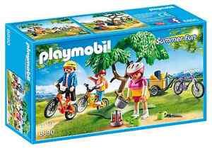 Playmobil Summer Fun 6890 Mountainbike-Tour Fahrrad Reise Urlaub Camping-Fahrt