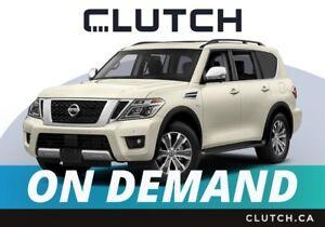 2018 Nissan Armada – Available On Demand