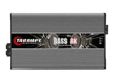 Taramps BASS 8000 1 Ch 8K watts RMS 1 OHM w/ US warranty! Brand New, usado comprar usado  Enviando para Brazil