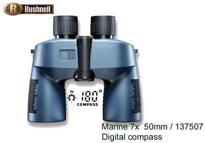Bushnell 7x50 Digital Compass Waterproof Marine Binoculars