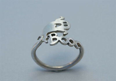 Cute Halloween Ghost Finger Ring Open Finger Rings Punk Party Cosplay Jewelry