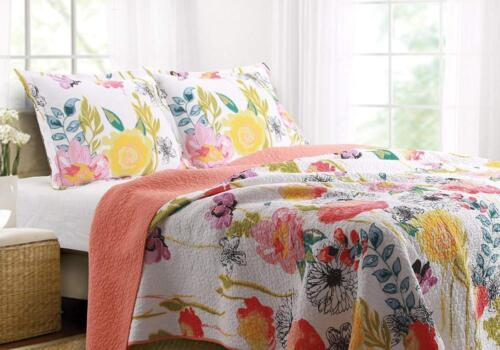 greenland home 3 piece watercolor dream quilt