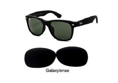 Galaxy Replacement Lenses For Ray Ban RB2132 New Wayfarer Black 52mm (Replacement Lens For Ray Ban Sunglasses)