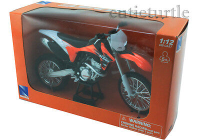 New Ray 2011 KTM 350 SX-F Dirt Bike 1:12 Diecast Orange
