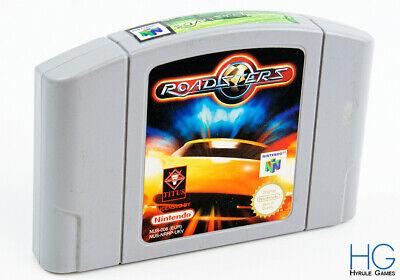 Roadsters - N64 Nintendo 64 Retro Game Cartridge PAL