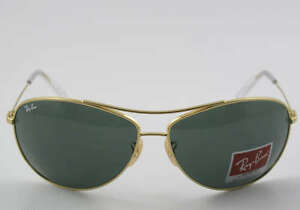 ITALY RAY BAN Gold SUNGLASSES RB 3454E 001/71
