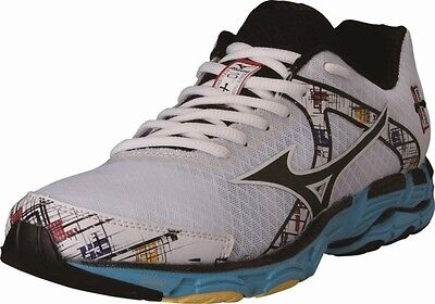 Mizuno Womens Wave Inspire 10 Exercise Lace Up Shoe, Whiteblackblue, Us 9 N