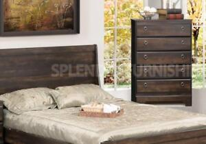Brand New!! Contemporary Style, Espresso Finish, 5 Drawer Bedroom Chest