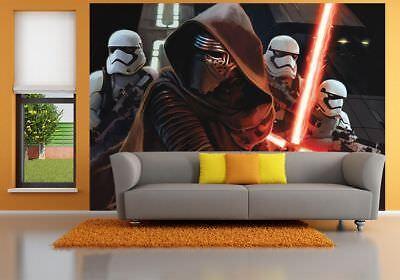 144x100inch Bedroom wall mural photo wallpaper Star Wars Kylo Ren Stormtroopers