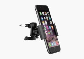 Kit Easy Talk Bluetooth Hands Free Device + In Car Universal Smartphone Holder