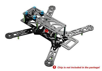 Kohlefaser Quadcopter Rahmen Carbon Fiber Frame Kit Grün 250  260 x 240x 98 mm online kaufen
