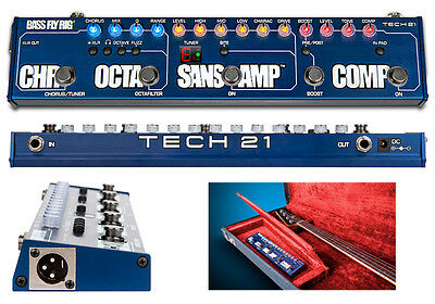 TECH21 BASS FLY RIG Multi-effects Pedal