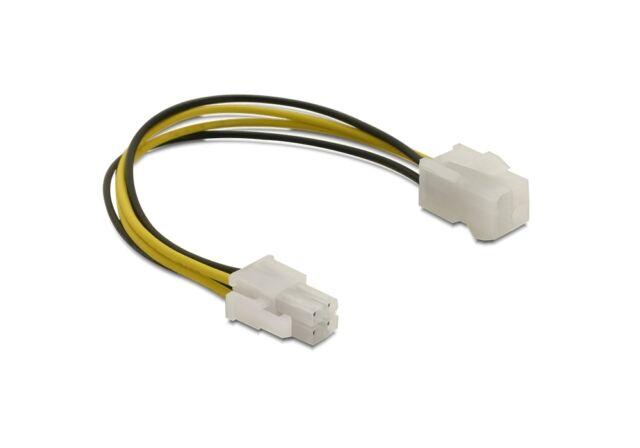 Delock 82428 Kabel P4 Stecker > P4 Buchse Verlängerung Adapter Adapterkabel NEU