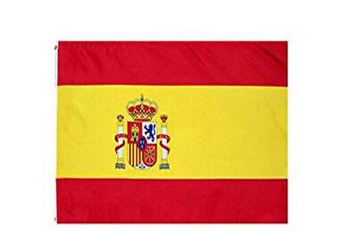 3X5 Spain Flag Spanish Premium Polyester Banner ROCKET SHIPPING](Spanish Flags)