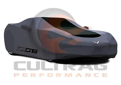 2006-2013 C6 Corvette Genuine GM Black Outdoor Car Cover Z06 Logo 19158379